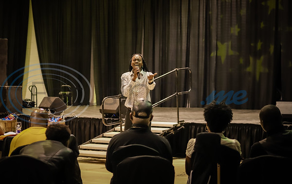 Trey Jackson of Dallas, Texas performs during East Texas Got Talent @ Jarvis Christian College. Sarah Perez/Freelance