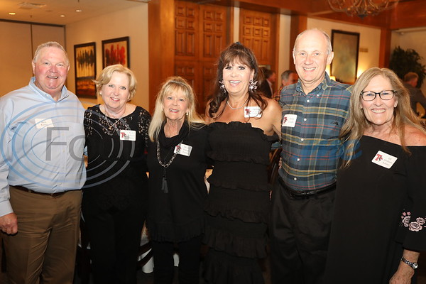 Rick Kinsey, Kim Kilgore Bailes, Donna Stumps Turner, Debbie Musslewhite Goldwater, Andy Leith, and Jill Graham Kinsey