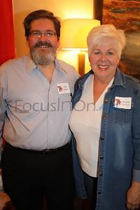 Eddie Milham and Melinda Morrison