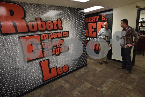 Principal for a Day at Robert E. Lee High School
