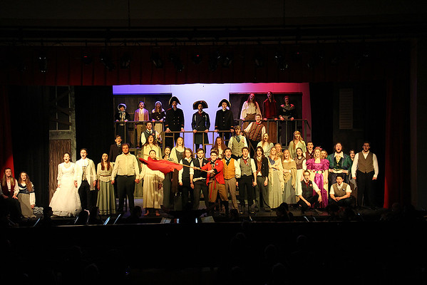 "'17 Chardon's ""Les Miserables"" Dress Rehearsal"