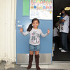 Leilani is so happy on the 1st day of school!