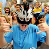 "Katie Kowal, center,  a Fairview upperclassman, gives a tour of the school during the freshman orientation to Fairview High School on Wednesday.<br /> For a video and more photos of Fairview, go to  <a href=""http://www.dailycamera.com"">http://www.dailycamera.com</a>.<br /> Cliff Grassmick  / August 15, 2012"