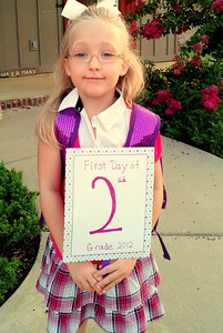 1st Day of Second Grade