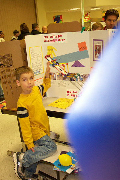 2003/02 - McAuliffe Science Fair