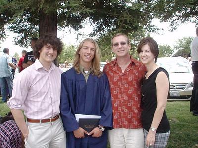 2007-06-03 Austin's grad party & EG High graduation