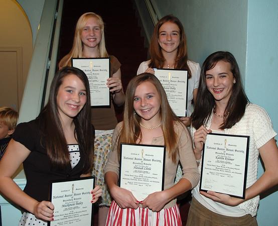 2007 GJHS National Honor Society