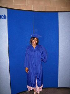Forsyth, Tech, Commencement, cap, gown