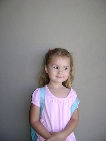 2009- Aug. Rebekah 1st day of preschool