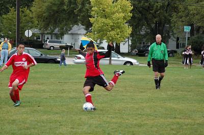 2009-10-08 Soccer game