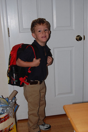 2011 - 08 - Ryan's First Day of Pre-K