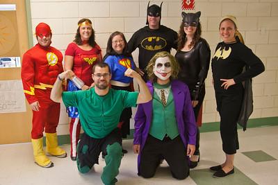 2011-2012 Super Heros and Super Villans!