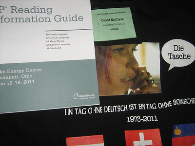 2011 AP German Reading in Cincinnati