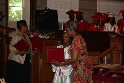 20110613 Dominique's Gradation from John W. Cook School