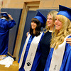 "Christine O'Malley, left, her mom, Lanna, and sister, Savannah, pose for  a special photo on Saturday.<br /> For more photos and a video of Peak to Peak graduation, go to  <a href=""http://www.dailycamera.com"">http://www.dailycamera.com</a>.<br /> Cliff Grassmick / May 19, 2012"