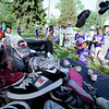 "Hundreds of shoes were collected for kids in developing countries by One Run Running.<br />  About 450 students  participated in 35th Annual Columbine Elementary School Mile Marathon on Friday. For more photos and a video of the run, go to  <a href=""http://www.dailycamera.com"">http://www.dailycamera.com</a>.<br /> Cliff Grassmick / May 18, 2012"