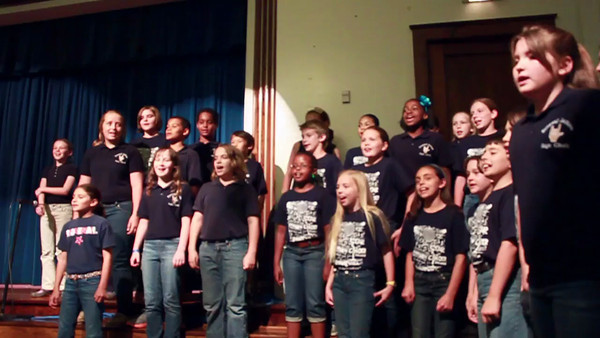 2012 May 10 - SJE Choir