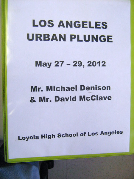 Here's the book on Urban Plunge, given by Mr. Tom Zeko to each team.