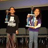 Congrats: District Spelling Bee 1st runner-up, Jeremy Pham (5th Icenhower) & winner, Kailey Choi (3rd Anderson)