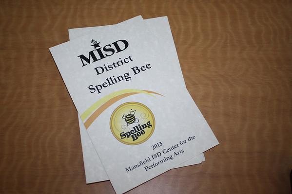 2013 District Spelling Bee
