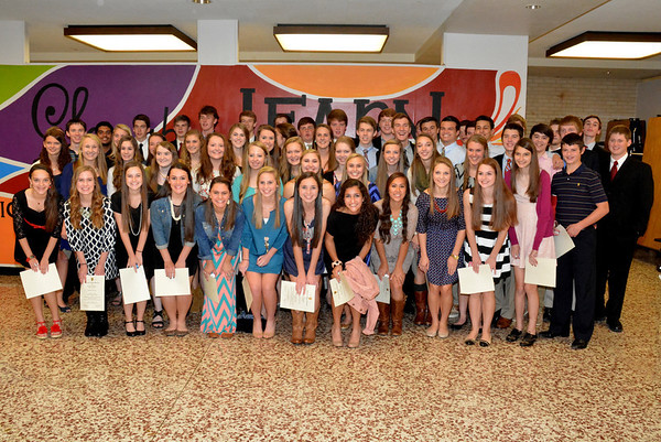 2013: LHHS National Honor Society Induction - Nov. 13