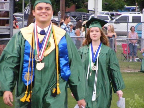 Suwannee High School graduation 2013