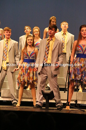 2014-01-09 School - Show Choir Preview Night - Spotlighters Gallery 1