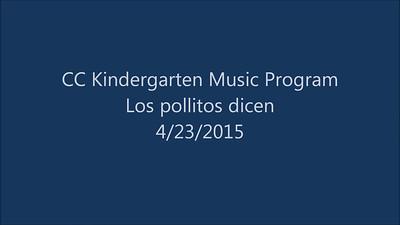 2015 04 23 - Los Pollitos Dicen
