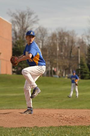 2014 Alden Boys var Baseball vs Cleve Hill