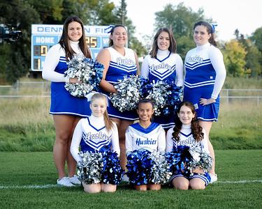 Cheerleader Portraits - Fall 2014