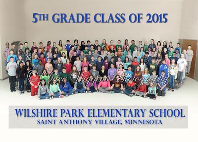 Wilshire - 5th Grade Class 2015