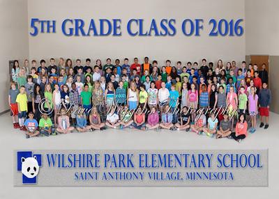 Wilshire Park - 5th Grade Class 2016