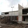 8 maart - Tweede binnenplaats bij de nieuwe gymzaal.
