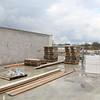 Zicht op het bovenste nieuwe lokaal voor beeldende vorming.