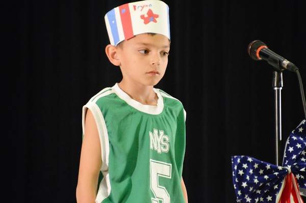 2016 patriotic performance 3rd grade