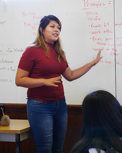 Alumni Talk by Estefania Franco (c/o '12, current UC Berkeley student)