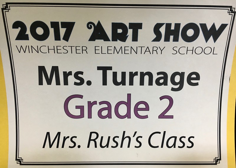 The Big Art Gala @ Winchester Elementary School, featuring our very own Wesley Shoemaker