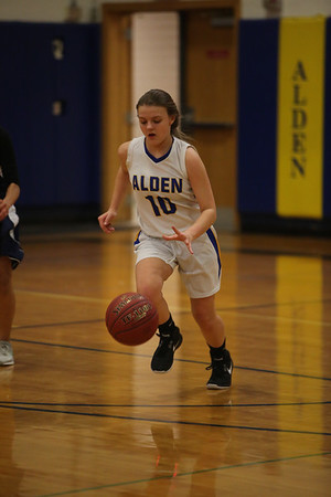 1-9-18 Alden Girls Basketball vs Lackawanna