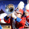 Don Knight | The Herald Bulletin<br /> Elwood at State Fair Band Day on Saturday.