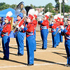 "Don Knight | The Herald Bulletin<br /> Elwood performs their show ""The One Thousand and One Nights"" during State Fair Band Day on Saturday."
