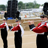 Don Knight | The Herald Bulletin<br /> The Frankton Marching Eagles are back this year at State Fair Band Day after missing last year's competition.