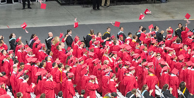 Noah Friedlander - June 6, 2017 graduation from Montgomery Blair High School - Magnet Program for Math, Science, and Computer Science, Xfinity Center, University of Maryland, College Park.