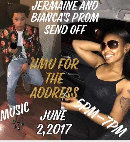 20170602 Jermaine & Bianca's Prom Sendoff
