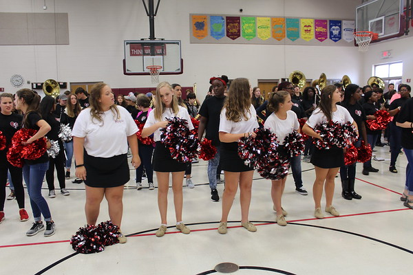 Creekside Pep Rally and West Game  09/01/17