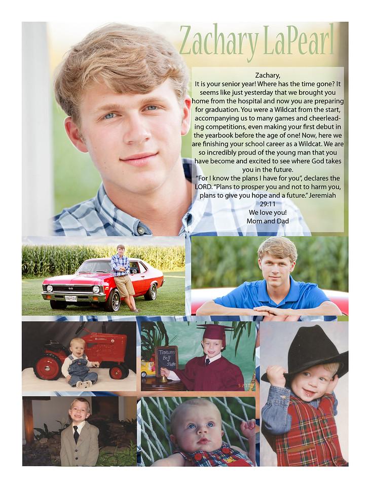 Zachary LaPearl Senior Ad Wright Noah