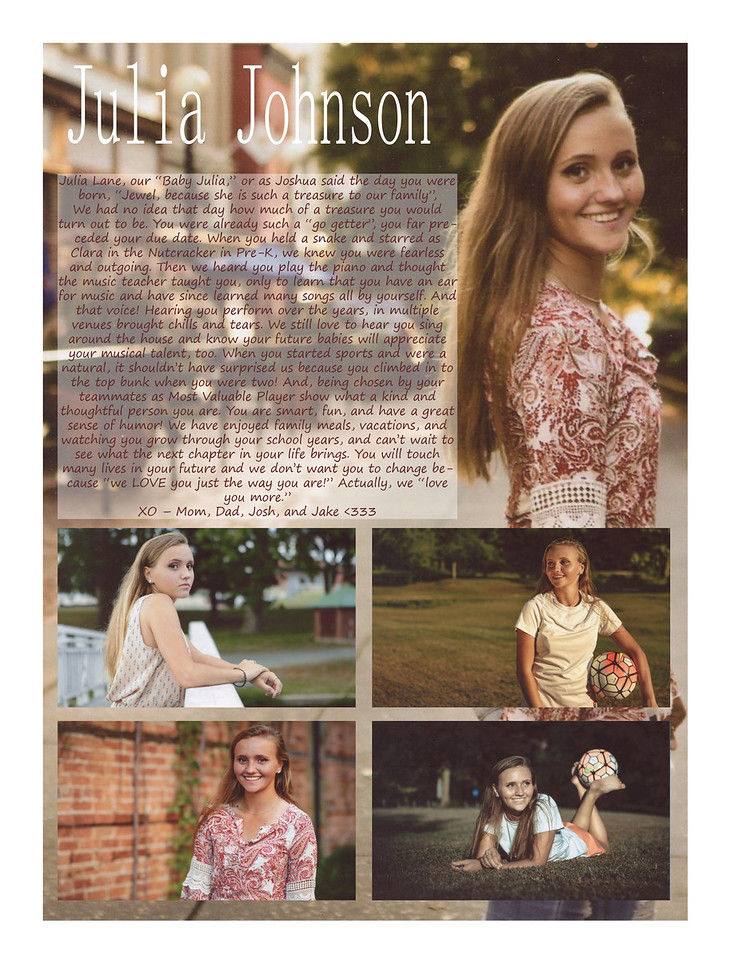 Wright Noah Julia Johnson Senior Ad copy