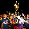 Don Knight | The Herald Bulletin<br /> Night show at State Fair Band Day.