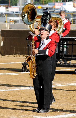 Don Knight | The Herald Bulletin<br /> State Fair Band Day on Friday.