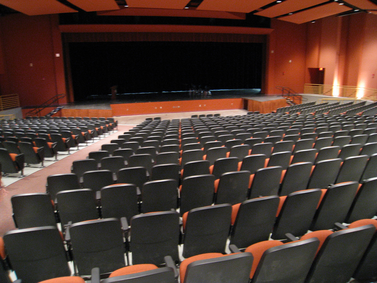 The new auditorium at Coronado.