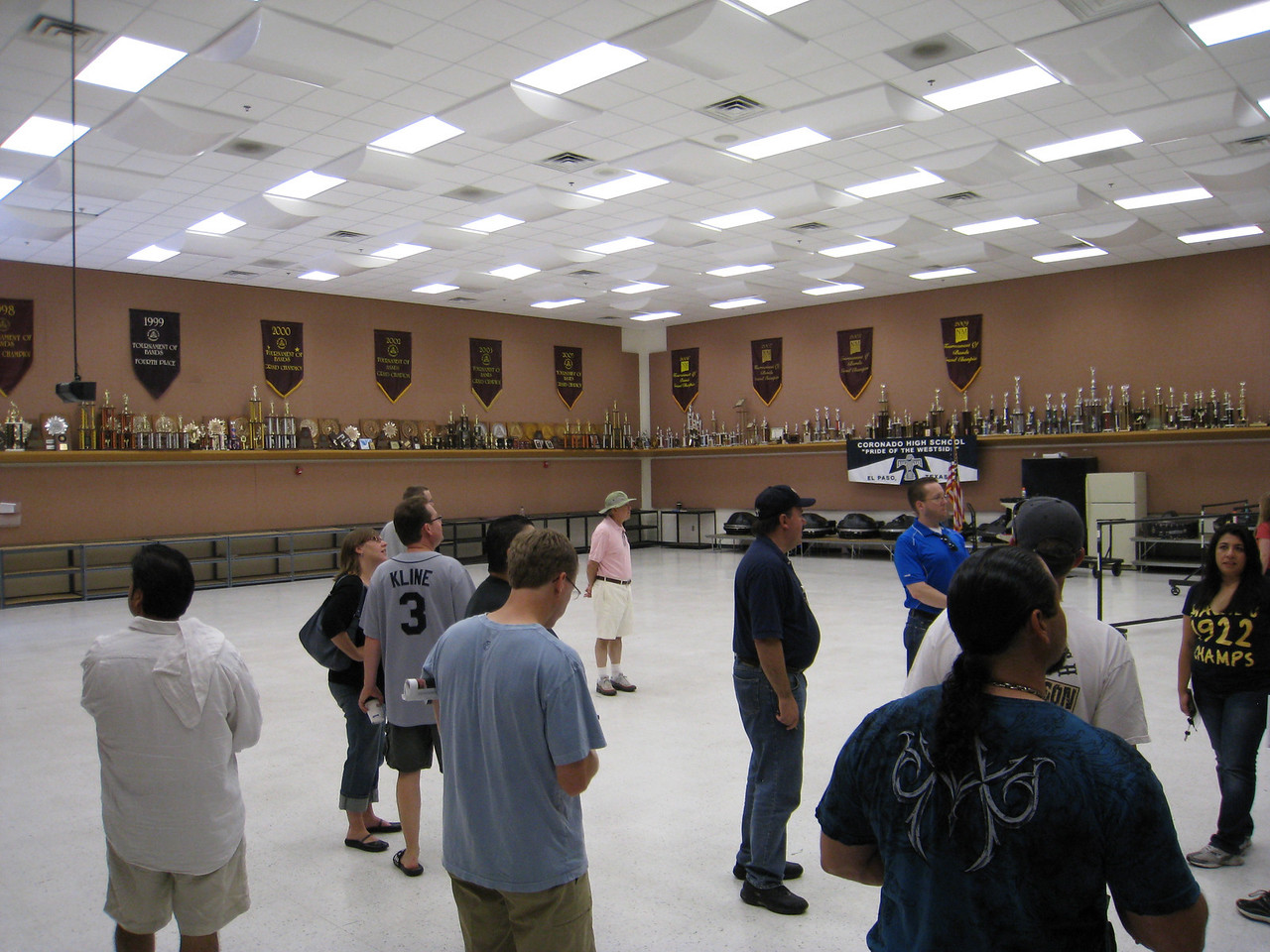 The new band room at Coronado